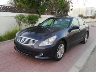 INFINITI G25 2012,FULL OPTION,SUNROOF,LEATHER SEATS,FRESH IMPORT