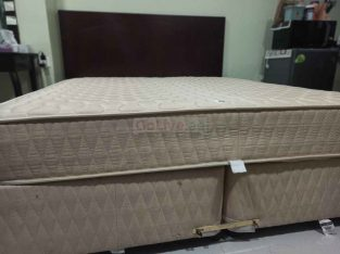 BED + MATTRESS FOR SALE