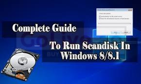 Scandisk: what it is used for and how to run it