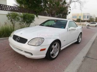 Used Mercedes-Benz SLK-320 2001