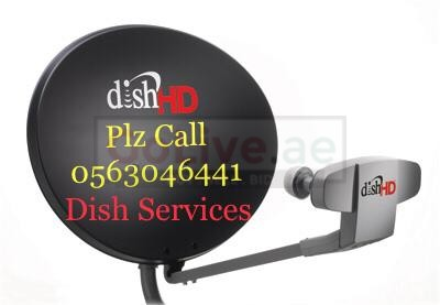 Mirdif Satellite Dish tv antenna Repair 0563046441 installation