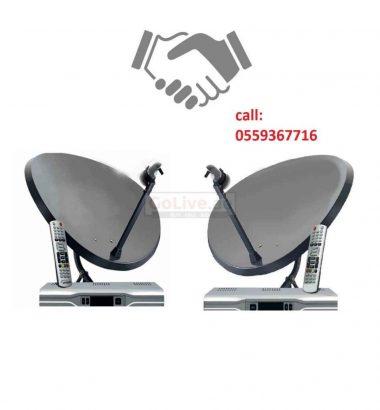 Satellite Dish TV Installation & repairing Services
