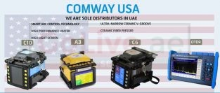 COMWAY Splicing Machine, Power Meter, Source Meter, OTDR and Tools