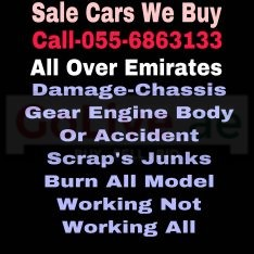 SALE CARS 055 6863133 WE BUY USED ACCIDENT DAMAGE SCRAP JUNKS ALL MODEL