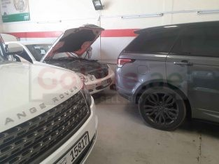 Range Rover Maintenance Center in uae