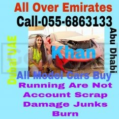 SELL JUNKS AND SCRAP CARS 055 6863133 WE BUY WORKING NON ACCIDENT DAMAGE ALL MODEL