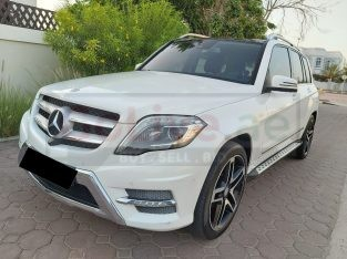 MERCEDES GLK 2013 4MATIC,TOP OF THE LINE,GCC,ACCIDENT FREE,PANORAMIC SUNROOF,360 CAMERA