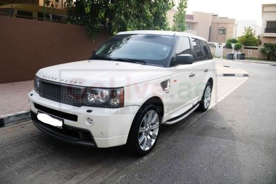 RANGE ROVER SPORTS SUPERCHARGE GCC SPECS 2008 FULL OPTION WITH BODY KIT IN PERFECT CONDITION