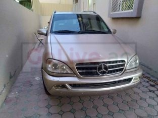 MERCEDES ML350 FULL OPTION 2004 GCC SPECS FOR SALE