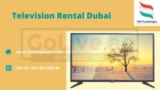 TV Rental at VRS Technologies in Dubai UAE