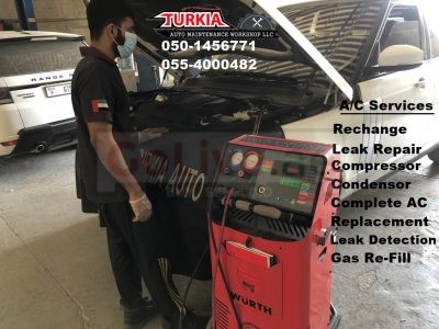 Car AC Service Offer for American & European Cars in Sharjah UAE