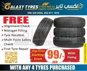 Get the Best Service in Less only At Galaxy Tyres