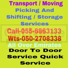 RELOCATION AND PICKING SERVICES 055 6863133 UAE