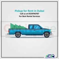 Pickup For Rent in Dubai Marina 052-4262123
