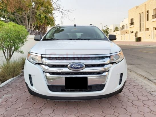 FORD EDGE 2014 MID OPTION GCC AGENCY MAINTAINED[[[FREE INSURANCE REGISTRATION]][[FIXED PRICE]]