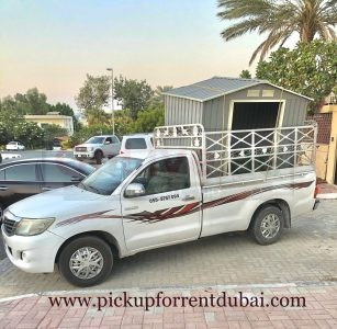 Pickup For Rent in Abu Dhabi 055-5757094