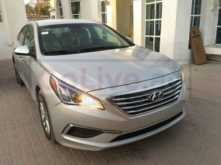 HYUNDAI SONATA 2017 , MID OPTION , SILVER , USA IMPORTED , FULLY AUTOMATIC ON CUSTOM DOCUMENT FOR SALE