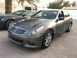 INFINITI G37 2012 FULLY LOADED BROWN COLOR USA IMPORTED ON CUSTOM DOCUMENTS FOR SALE