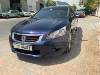 HONDA ACCORD 2012 , GCC SPECS, SUNROOF , ALLOY RIMS , FULL AUTOMATIC FOR SALE ONLY 17500
