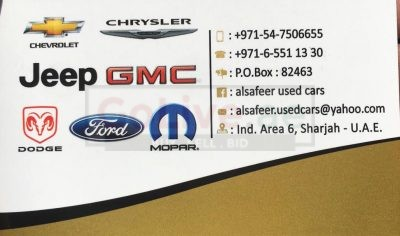 Al Safeer Used Cars and Auto Spare Parts TR LLC ( American Cars Used Auto Spare Parts )