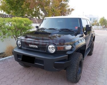 TOYOTA FJ CRUISER XTREME 2016,GCC,FULL SERVICE HISTORY,UNDER WARRANTY,ACCIDENT FREE
