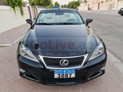 LEXUS IS250C SPORTS CONVERTIBLE 2012 FULL OPTION AMERICAN SPECS FOR SALE