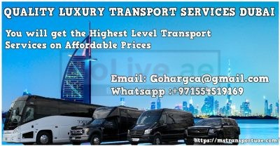 WE PROVIDE ALL TYPES OF PASSENGERS TRANSPORTATION IN UAE