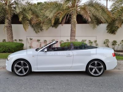 Audi S5 CONVERTIBE SUPERCHARED V6 QUATTRO 330HP DUAL CLUTCH TRANMISSION 2014, FULL SERVICE HISTORY
