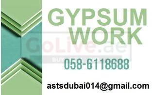 Gypsum Partition Work in JLT Al Barsha JBR JVT Business Bay Downtown Dubai