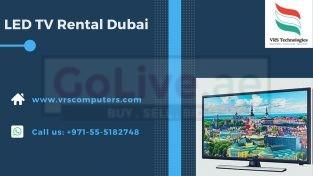 Large Plasma LED TV Rental Services in Dubai UAE