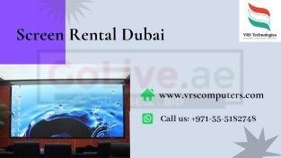 Indoor Led Display Screen Rental in Dubai UAE