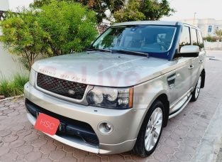RANGE ROVER SPORT HSE 2012 GCC FULLY LOADED HST KIT >> NEW TYRES & BATTERY <<