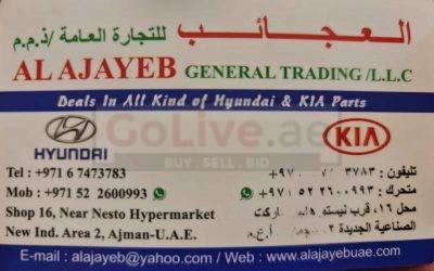 AL AJAYEB KIA AND HYUNDAI PARTS TR ( AJMAN AUTO SPARE PARTS MARKET )
