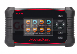 MechanMagic MD698 OBD2 Car Scanner Diagnostic Compute Tool Full System with ABS SRS Engine & more ( FREE LIFETIME ONLINE UPDATE ) AED 1950 Only