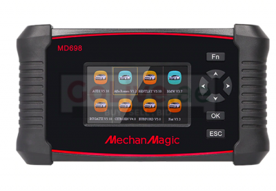MechanMagic MD698 OBD2 Car Scanner Diagnostic Compute Tool Full System with ABS SRS Engine & more ( FREE LIFETIME ONLINE UPDATE )