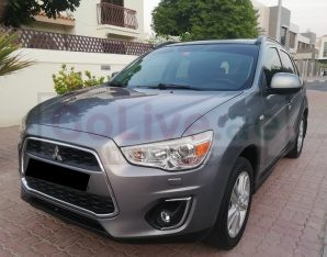 MITSUBISHI ASX 2013 4WD GCC TOP OF THE LINE PANORAMIC PERFECT CONDITION