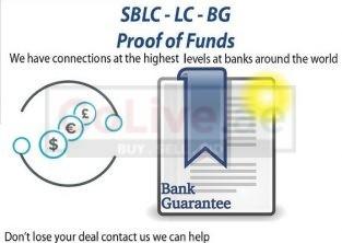Bank Guarantee/SBLC/MT760,Financing,Loan,Monetizing,PPP Trading + More.