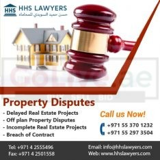 Real Estate- Property Dispute Lawyers in Dubai UAE