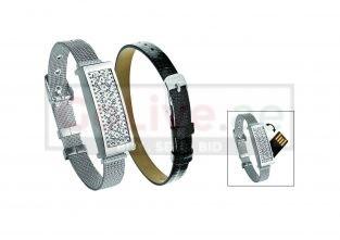 4GB USB with Interchangeable Bracelet Set