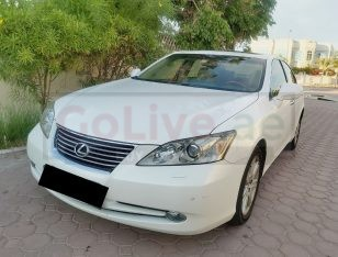 LEXUS ES350 2008,GCC,FULLY LOADED LOW MILEAGE ACCIDENT FREE
