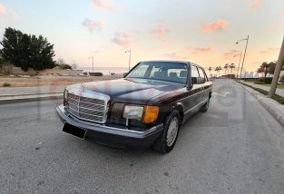 MERCEDES SEL300 1991,FRESH IMPORT,AMAZING CONDITION,SUNROOF,LEATHER SEATS