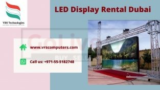 Who Offers LED Display Screen Rentals in Dubai?