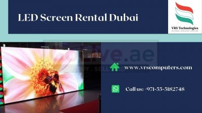 Big LED Screens for Hire Solutions for Events in Dubai
