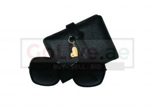 Ladies Sunglasses and Wallet Set