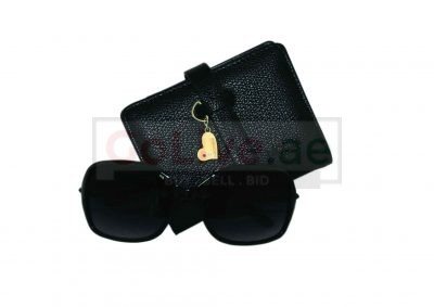 Ladies Sunglasses and Wallet Set