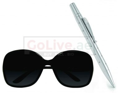 Ladies Sunglasses and Crystal Studded Ballpoint Pen