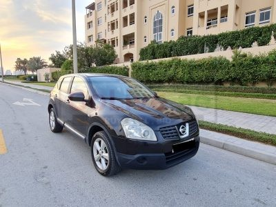 NISSAN QASHQAI 2008,GCC,4WD,GOOD CONDITION