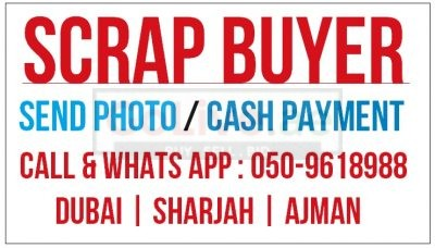 Cash Payment Scrap Buyer Company in Dubai