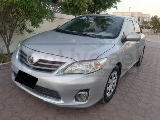 TOYOTA COROLLA XLI 2013, GCC, WELL MAINTAINED, ACCIDENT FREE