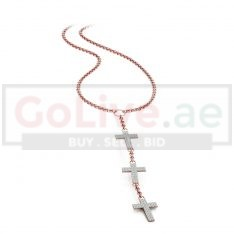 Rose Gold Plated Cross Necklace